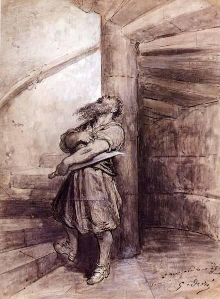 Illustration For Charles Perraults Bluebeard